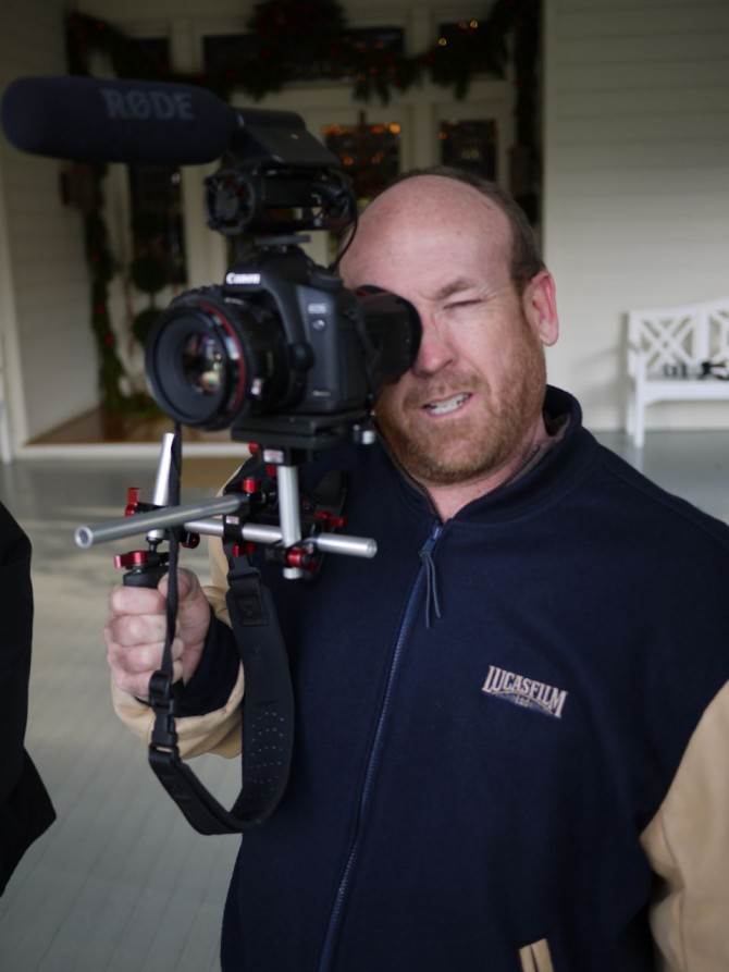 http://philipbloom.co.uk/2009/12/12/the-tale-of-lucasfilm-skywalker-ranch-red-tails-star-wars-and-canon-dslrs/