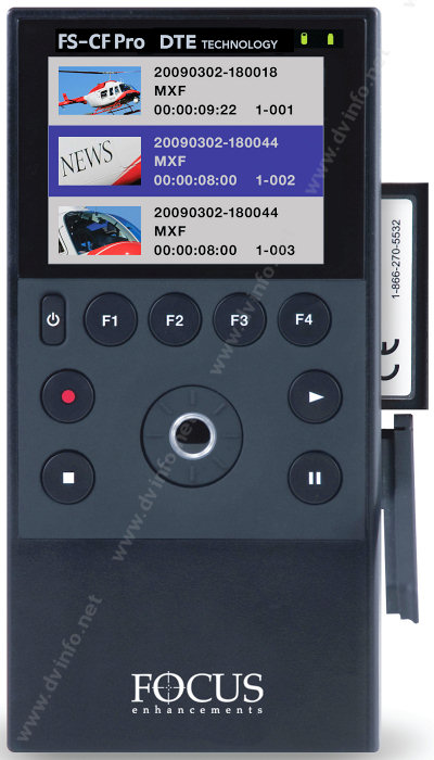 Focus Enhancements Solid State Dte Recorders