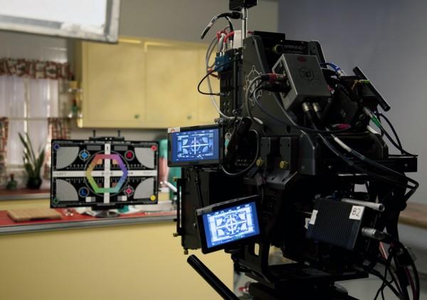 Arri Alexa 3-D Camera Setup with Fairburn Chart