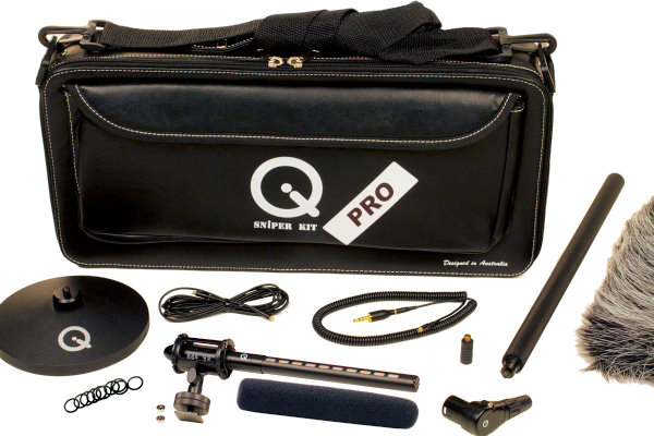 Que Audio Q Sniper PRO Microphone Kit