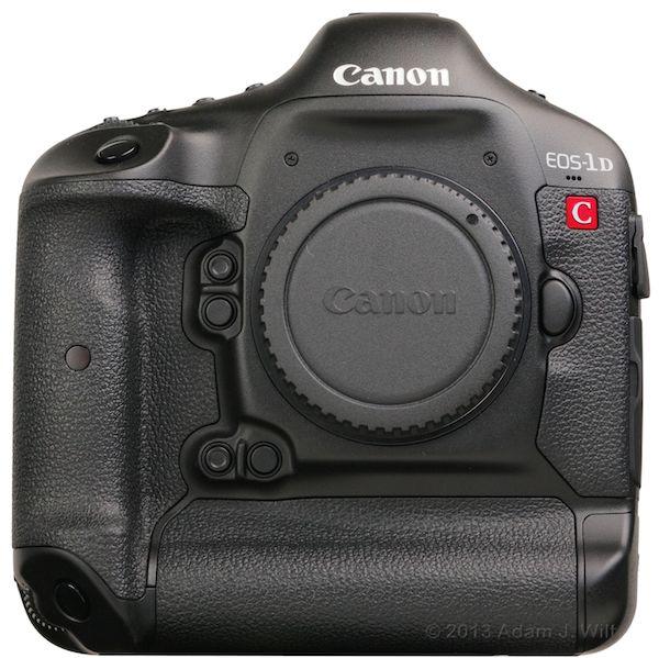 Canon 1D C, front