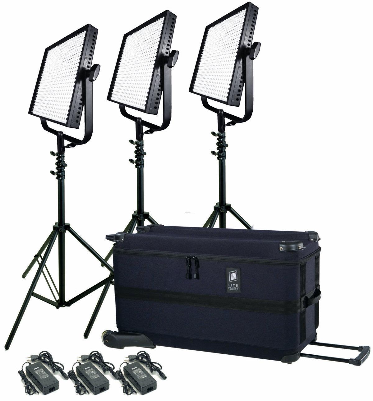 lighting kit news new light ls traveler led the kits litepanels
