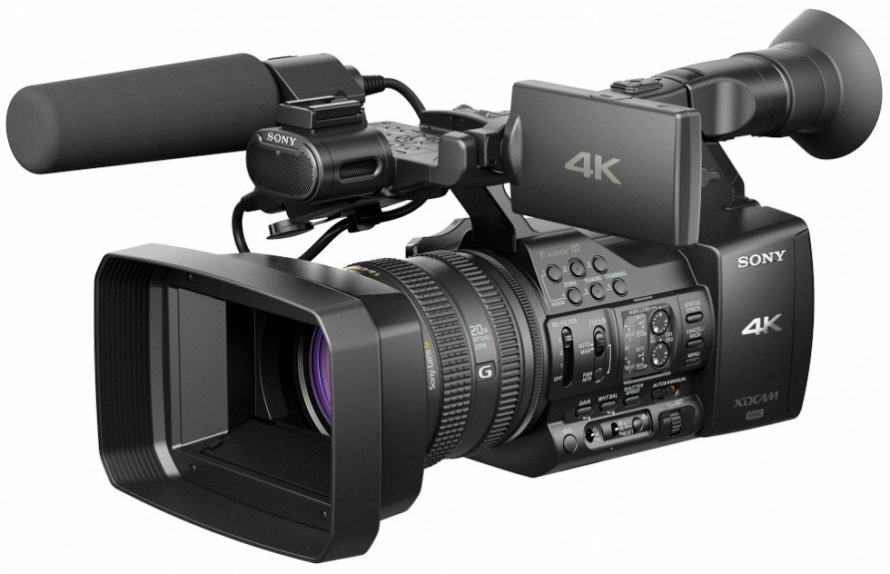 sony unveils new professional 4k camcorder. Black Bedroom Furniture Sets. Home Design Ideas